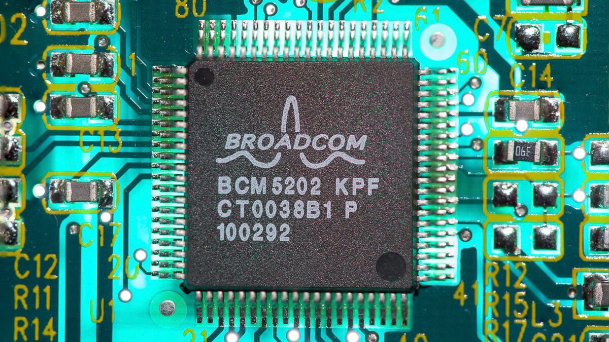 In demand: Broadcom says 90% of its 2021 supply has already been ordered by customers.  (Source: Chris Hsia on Flickr CC2.0)