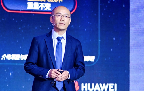 Lighter is better, says Gan Bin, vice president of Huawei's wireless product line.