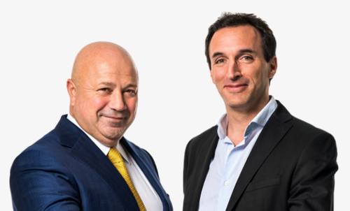VEON named Kaan Terzioğlu (left) and Sergi Herrero its co-CEOs this time last year.