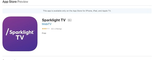 App stores show that Sparklight TV supports up to six simultaneous streams and a cloud DVR with up to 200 hours of storage.  