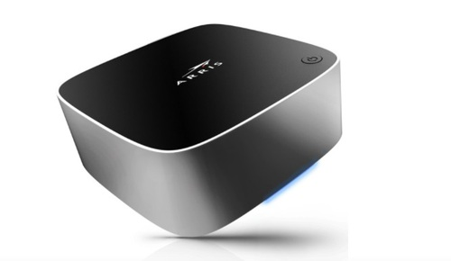 CommScope has tried to keep pace with the pivot to streaming devices with a line of client devices that can work with Android TV, RDK and the company's own KreaTV software platform. Pictured is the Px5517, an Android TV-compliant device with integrated Wi-Fi, 1 