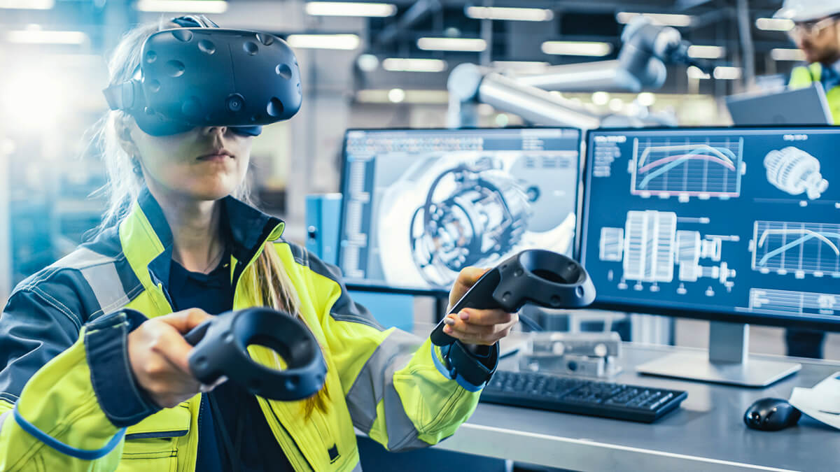 Enter the matrix: The new VR platform promises to speed up the manufacturing process for hybrid and electric vehicle production.  (Source: Hyperbat)