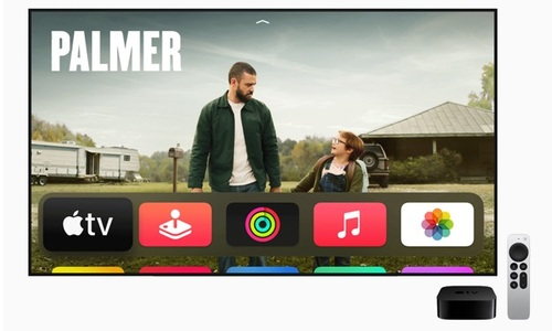 Apple's new streamer is also outfitted with the latest version of tvOS. Apple expects to start releasing tvOS 14.5 for compatible, existing Apple TV player models starting next week.