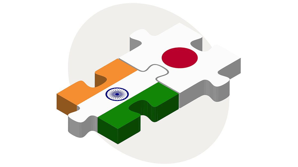 Ganging up: The announcement is the latest in a series of closer ties between Japan and India to counter China's influence.  (Source: Pixabay)
