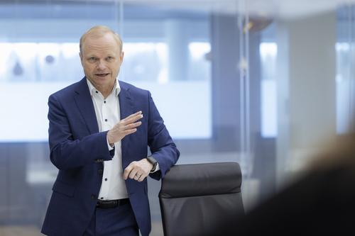 Nokia CEO Pekka Lundmark hails 'a good start' to the year.