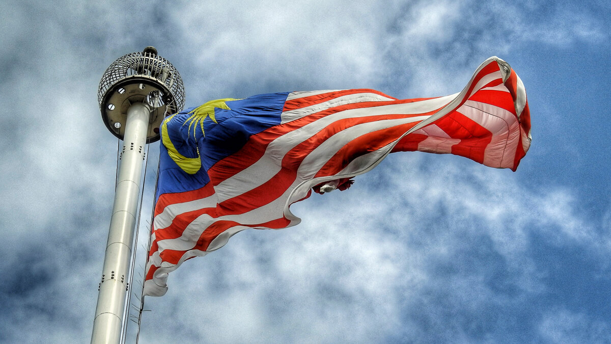 Fly the flag: Malaysia has big plans for 5G - but who will pay for it is less clear.  (Source: mkjr_ on Unsplash)