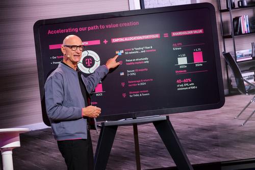 Deutsche Telekom CEO Timotheus Hottges is a big US spender.