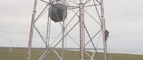 GCI's microwave-powered TERRA platform will benefit from fiber deployments in Western Alaska.   (Source: GCI)