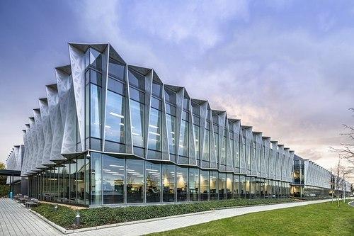Arm's fancy headquarters in Cambridge, UK.