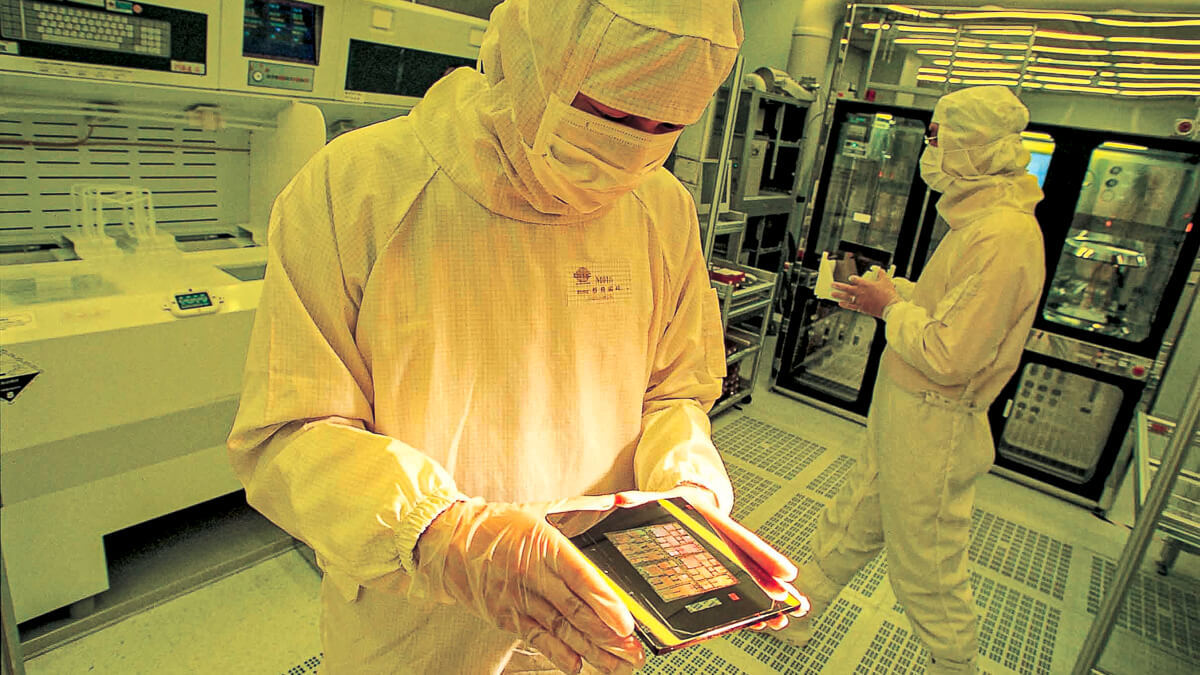 Chips with everything: TSMC has prospered as the chip shortage has gathered pace - with plans for a new fab in Japan.  (Source: TSMC)