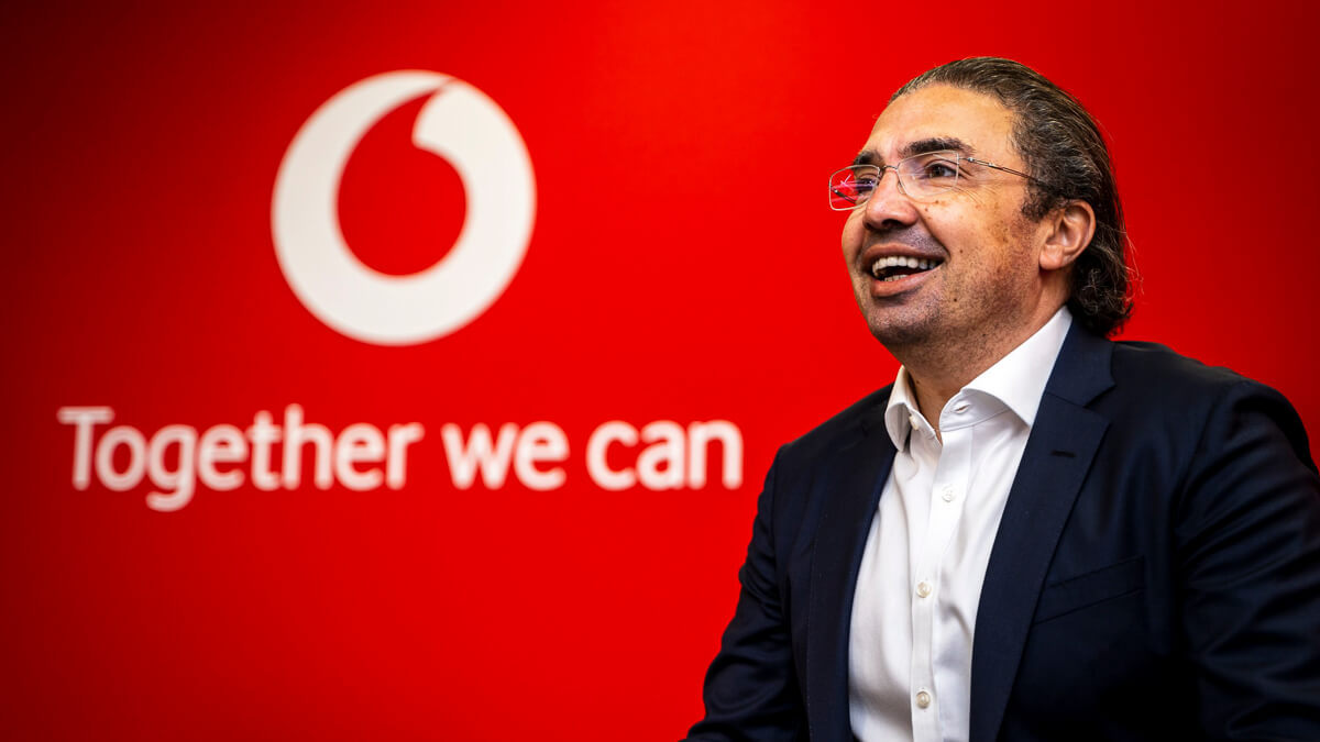In the hot seat: Vodafone UK CEO Ahmed Essam has been in charge for several months now, replacing Nick Jeffrey.  (Source: Vodafone UK)