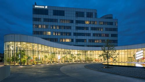 Ericsson's headquarters in Kista, Sweden.