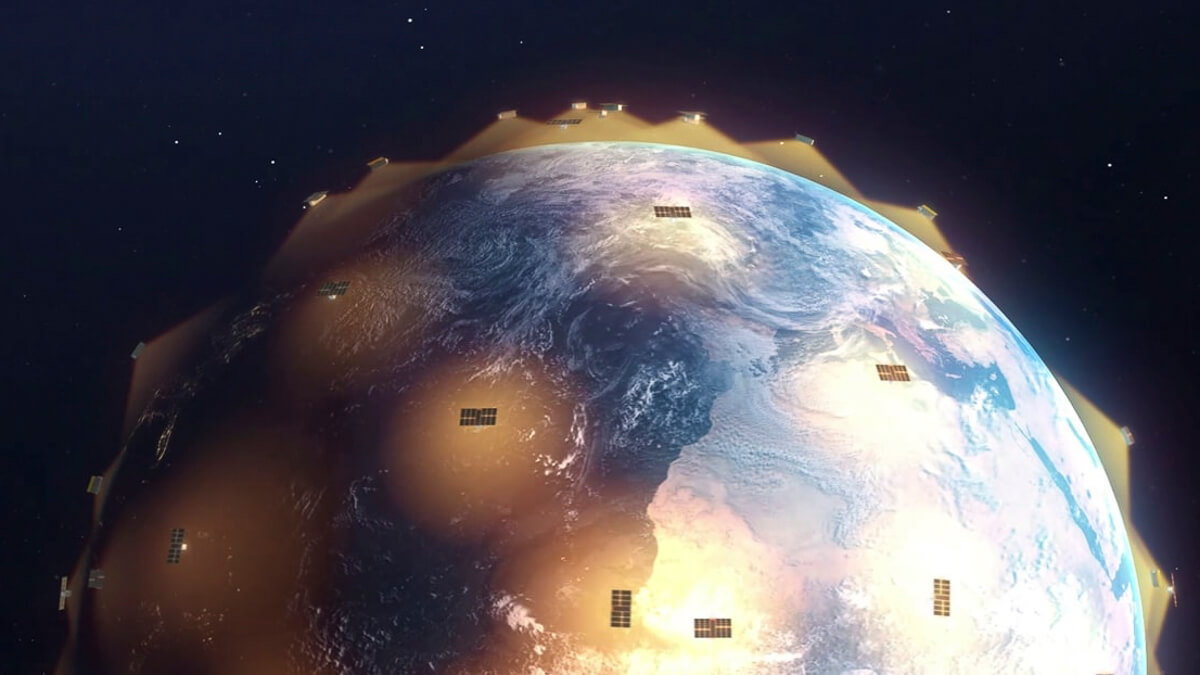 Skynet's little cousin: Astrocaster's network of microsatellites provide connectivity for IoT devices. (Source: Astrocast)