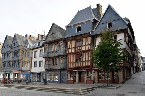 At first glance, Lannion in northwest France does not look very hi-tech.