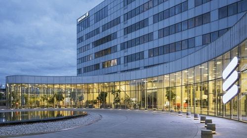 Ericsson's headquarters in Sweden.