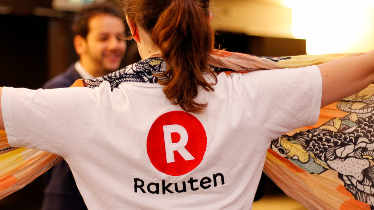 Hands up: As Rakuten looks to expand coverage, base station build costs pull down group revenues.  (Source:  PriceMinister on Flickr CC2.0)
