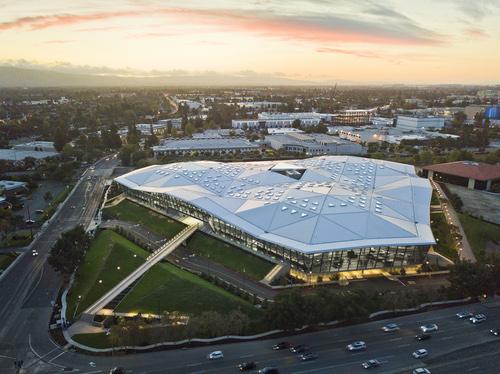 Nvidia's swanky headquarters in Santa Clara.