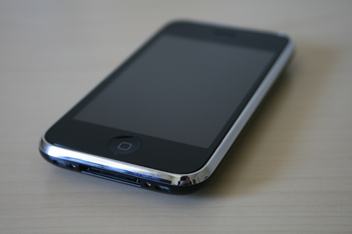 Photo: 'iPhone 3GS 16GB Black (Front)' by William Hook is licensed under CC BY-SA 2.0