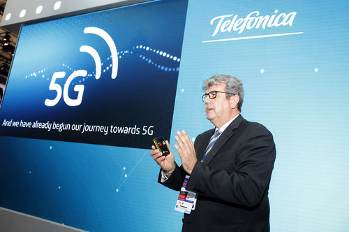 Telefonica CTO Enrique Blanco is eyeing 800 commercial open RAN sites by next year.