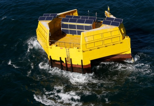 Facebook says it will soon begin trials of floating buoys to power its subsea cables.  (Source: Facebook)