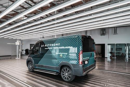 Karma's Level 4 Autonomous Van