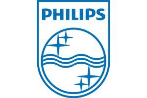 Philips logo - blue on white