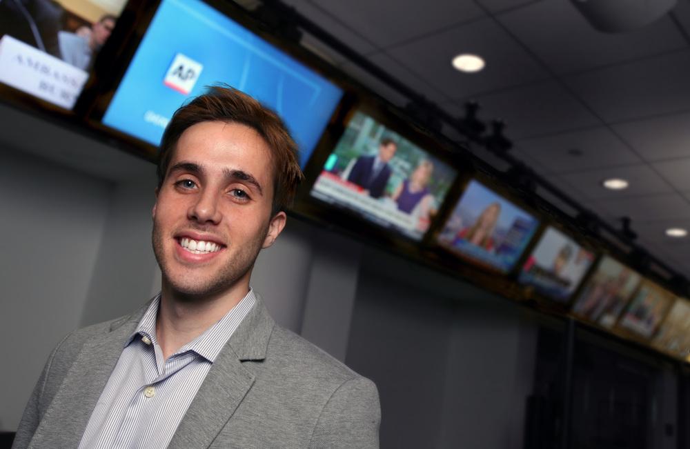 A headshot of Francesco Maroni, Strategy Manager and AI co-head at the Associated Press