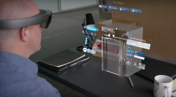 Microsoft HoloLens is developing augmented reality for the enterprise