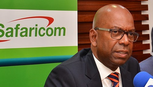 Safaricom CEO Bob Collymore says the deal provides 'the opportunity to drive M-Pesa to other markets in the continent.' (Picture courtesy of Safaricom.)