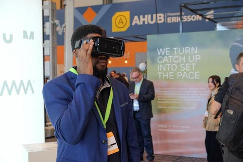 Virtual reality technology will feature in the new Technology Arena at AfricaCom.