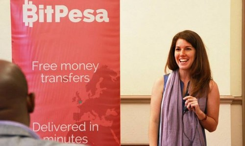 BitPesa founder and CEO, Elizabeth Rossiello: 'We keep raising because we have grown above and beyond projections.'