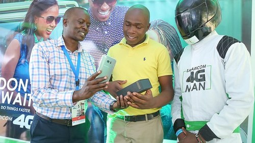 Safaricom has been promoting its 4G services heavily this year.