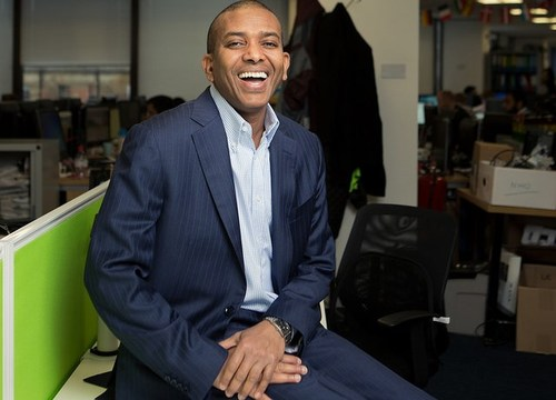 Laughing all the way to the digital bank: WorldRemit founder and CEO Ismail Ahmed.