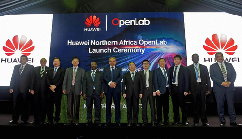 Huawei held a ceremony to launch the Cairo OpenLab during the Cairo ICT 2017 conference.