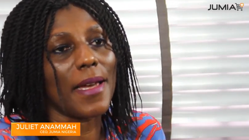 Juliet Anammah, CEO of Jumia Nigeria: 'The mobile industry continues to play an increasingly important role in the socio-economic development of the African region.'