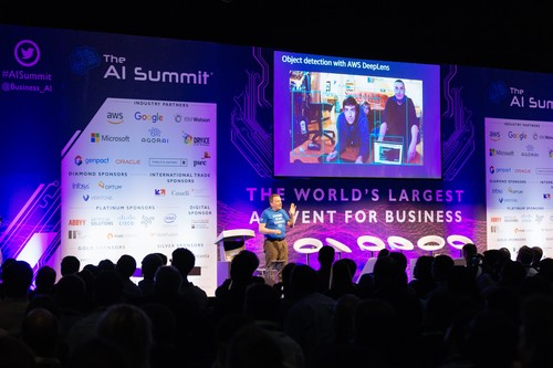 The AI Summit in London earlier this year.