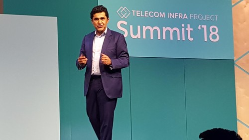 MTN's Group CTIO Babak Fouladi presents his vision at the TIP Summit in London.