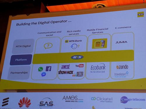 MTN is aiming to become a digital operator.