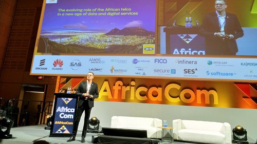 MTN Group CEO Rob Shuter at the recent AfricaCom event in Cape Town.
