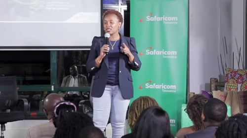 Sylvia Mulinge, Chief Customer Officer, Safaricom.