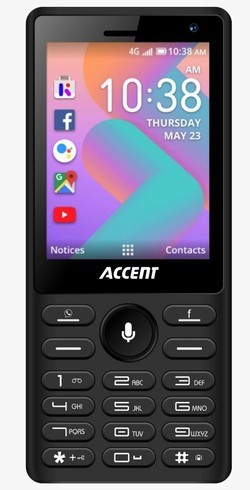 Stock image of a KaiOS-based feature phone.