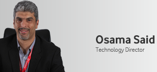 Osama Said, technology director, Vodafone Egypt​.