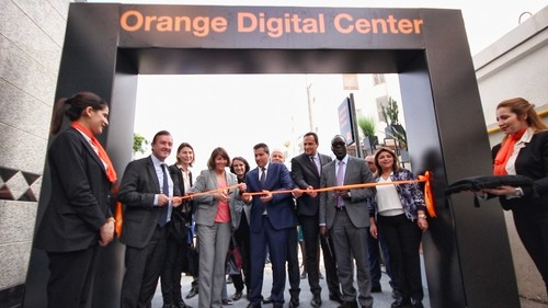 The opening of the first Orange Digital Center in Tunisia.