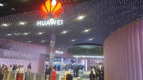 As this picture from MWC 2019 shows, Huawei is on a mission to convince the world that '5G is ON.'