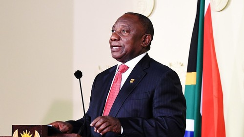 South African president Cyril Ramaphosa (Photo courtesy of GCIS).