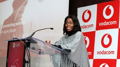 Takalani Netshitenzhe, chief officer for corporate affairs at the Vodacom Group.