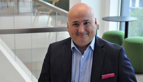 Fadi Pharaon is Ericsson's new senior vice president and head of market area Middle East and Africa.