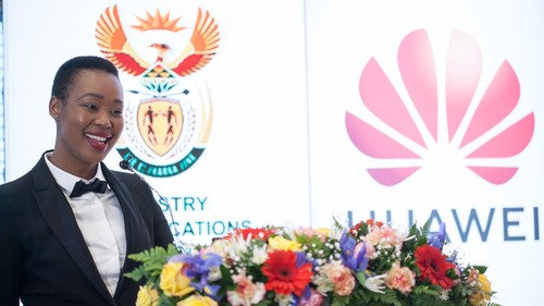 SA Department of Communications and Digital Technologies Minister Stella Ndabeni-Abraham.