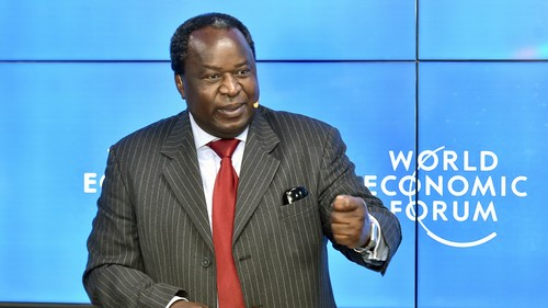 South African Finance Minister Tito Mboweni. (Picture courtesy of GCIS)