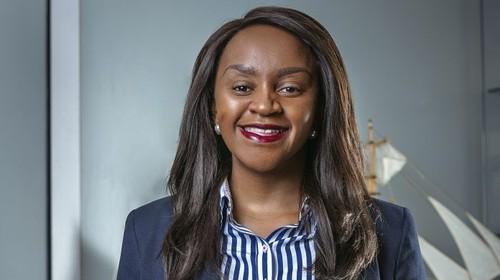 New MTN Rwanda CEO Mitwa Kaemba Ng'ambi.